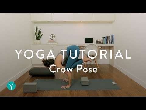how to do crow pose in yoga  yoga tutorial  youtube