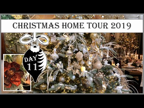 Christmas Home Tour 2019   Collaboration hosted by Daveda Lane   11th Day of Vintage Christmas
