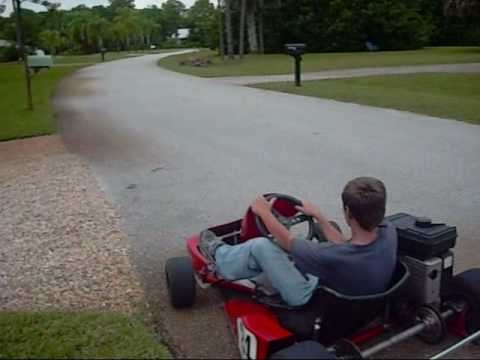 Racing Go Kart with 5 horse Briggs and Stratton Motor