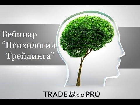 Психология форекс трейдинга Вебинар по торговле на Forex