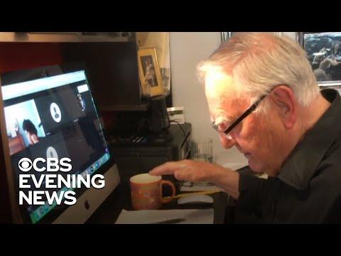 91-year-old professor's virtual teaching goes viral during pandemic