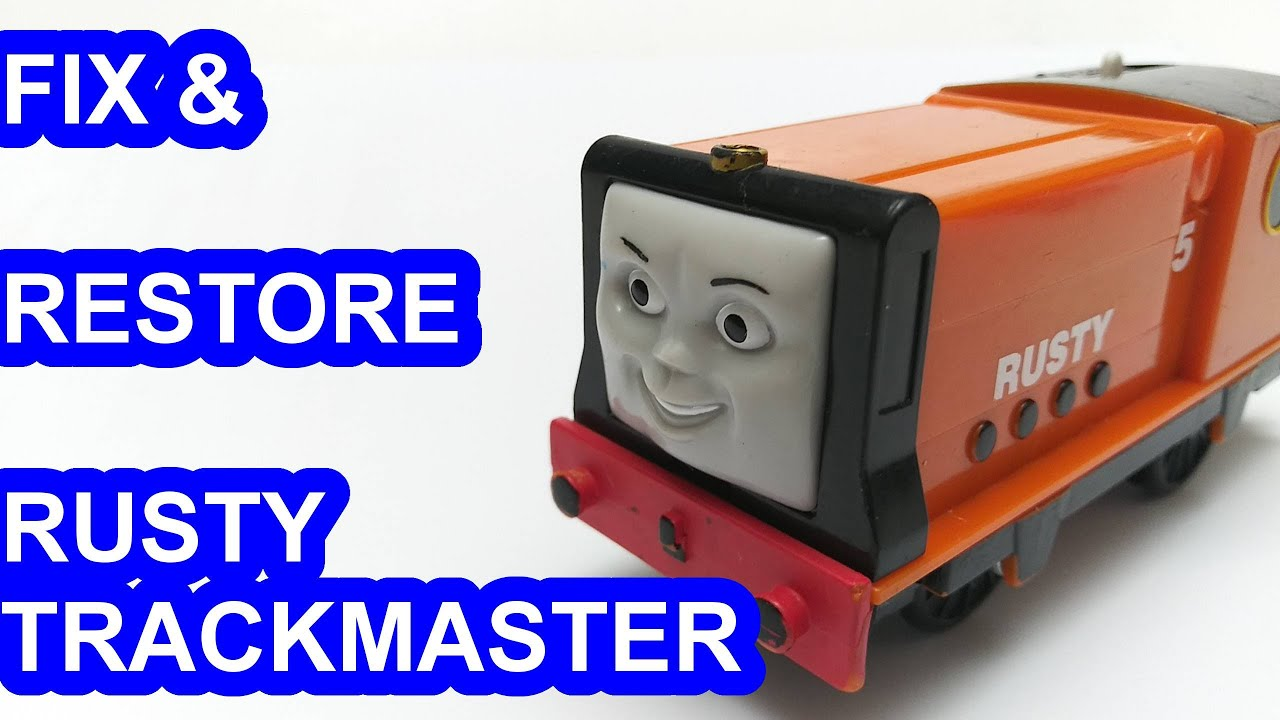 Fix & restore Rusty Trackmaster Thomas & friends Thomas y sus amigos 托馬斯和朋友 Томас и друзья きかんしゃトーマス