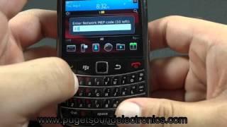 How to unlock Verizon Blackberry Bold 9650