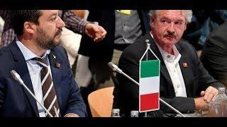 EKLAT: So fetzen sich Salvini und Asselborn beim EU-Ministertreffen