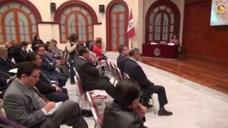 Tema: UNMSM y LASPAU Suscriben Convenio de Cooperación