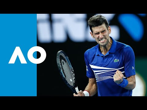 Novak Djokovic v Daniil Medvedev match highlights (4R) | Australian Open 2019
