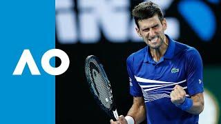 Novak Djokovic v Daniil Medvedev match highlights (4R) | Australian Open 2019