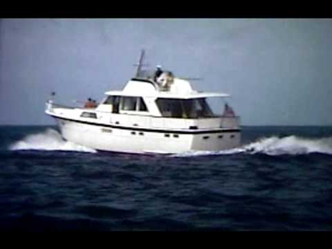 53 39 Hatteras Yacht Sales Promotional Film 1970s Youtube