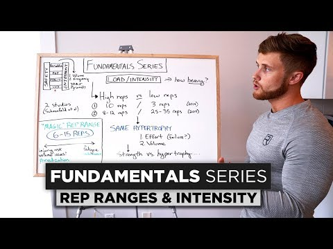 Rep Ranges and Training Intensity | The Fundamentals Series: Chapter 3