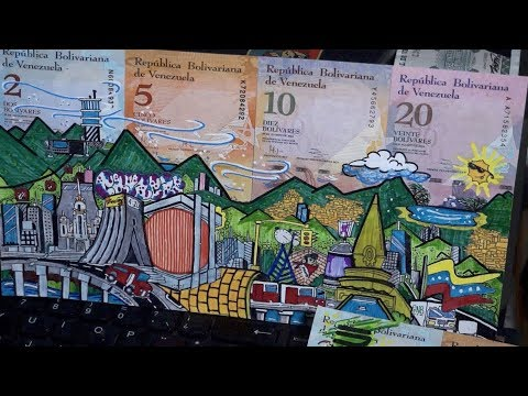 Priceless cash: Venezuelan artists turn 'worthless' money into art