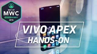 Vivo Apex Hands On: In-screen Fingerprint + Pop-up Selfie Cam!