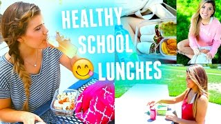 Healthy & Easy School Lunch Ideas!!