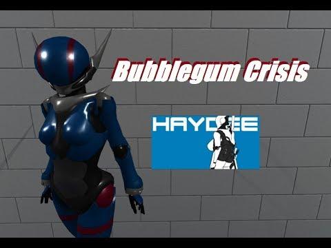 Haydee mods Bubblegum Crisis