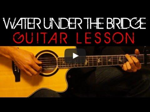 Adele - Water Under the Bridge Acoustic Guitar Easy Tutorial Lesson ...