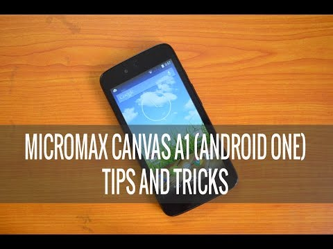 Micromax Canvas A1 (Android One) Tips and Tricks