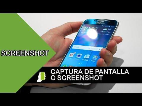SAMSUNG GALAXY S6  Captura De Pantalla O Screenshot  HD ( FACIL Y RAPIDO )