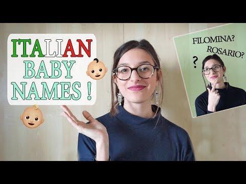 Most Common Italian BABY NAMES !