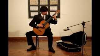 Nahuel Romero - Sonata Giocosa - Joaquín Rodrigo