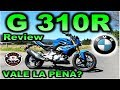 BMW G 310 R | Review en Español con Blitz Rider HD
