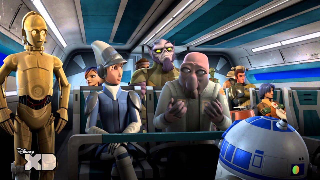 Star Wars Rebels Premières Minutes Episode 3 Youtube