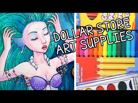 CHEAP ART SUPPLY CHALLENGE