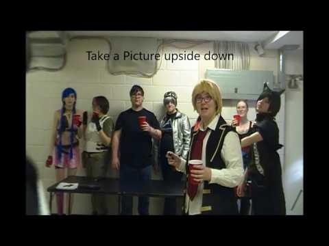 Jones Soda Drink Challenge in Cosplay