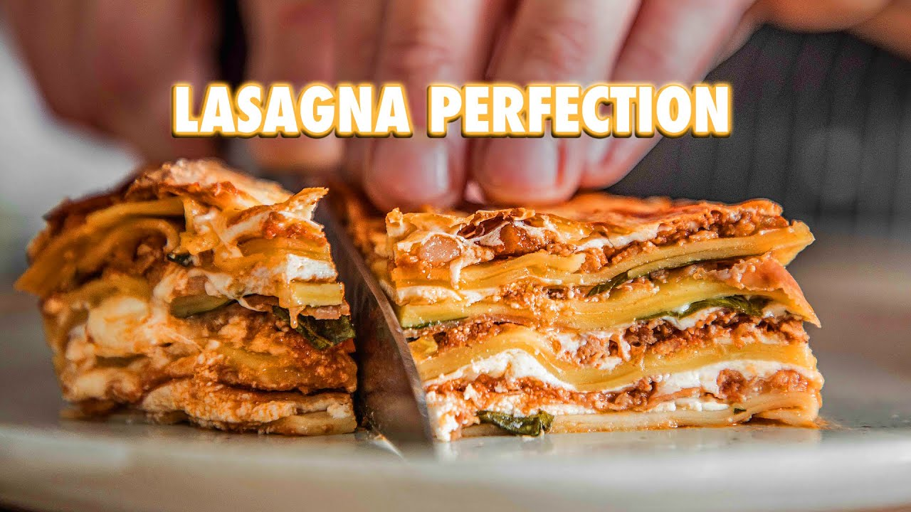Download The Nearly Perfect Homemade Lasagna Guide