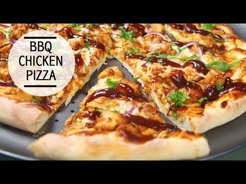 How to make barbecue chicken pizza at home