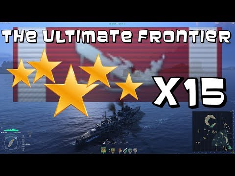 The Ultimate Frontier - 5 Star Fiji  || World of Warships