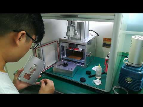 how to laminate customized watch with YMJ laminating machine