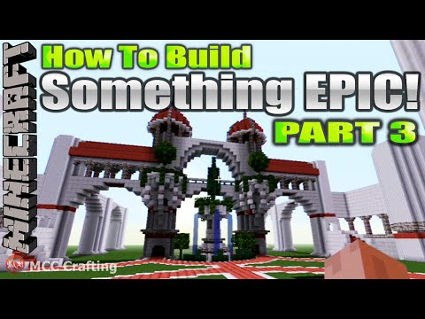 how to build something in minecraft
