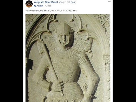 14th-15th Century Armour, Battle of the Nations and Augusto Boer Bront - Part 1