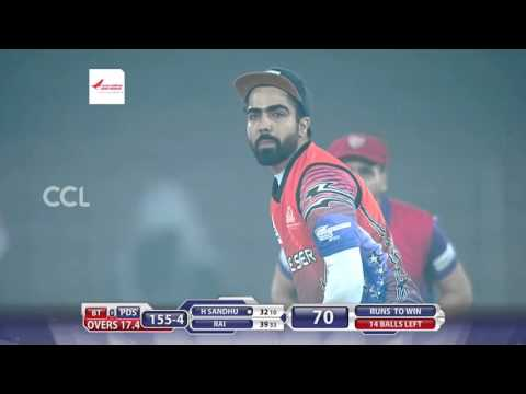 CCL6 - Bengal Tigers VS Punjab De Sher || 2nd Innings Fours & Sixes