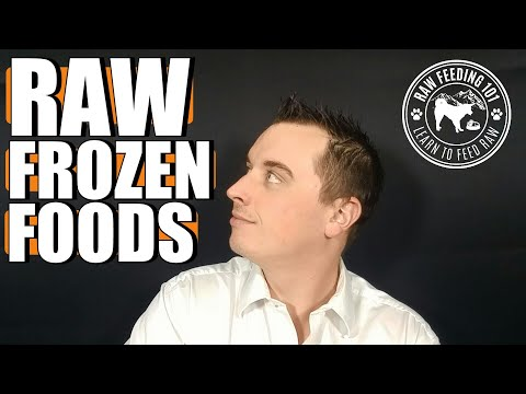 Feeding Frozen Raw Dog Food