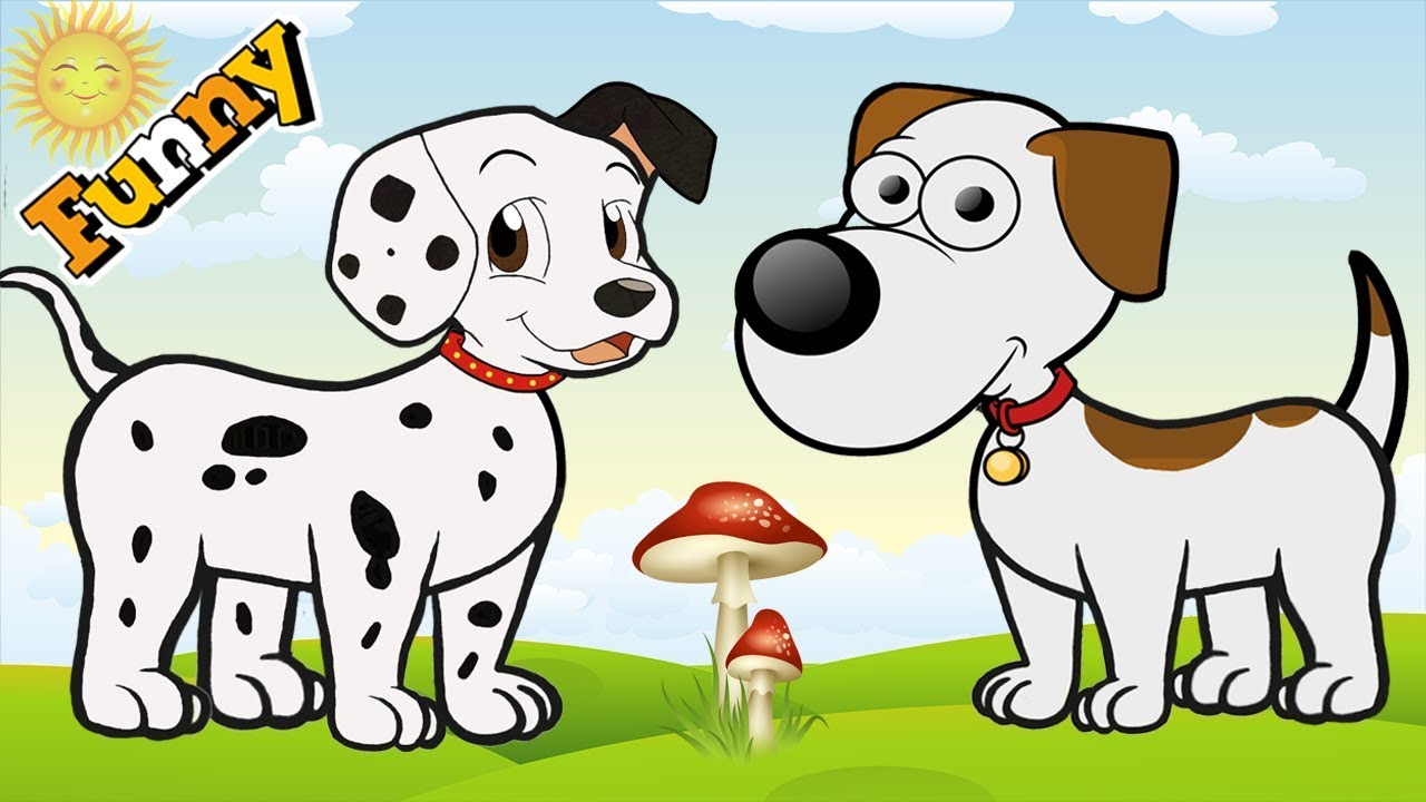 Funny Dogs Cartoons for Children Full Episodes 2017 - Dogs ...