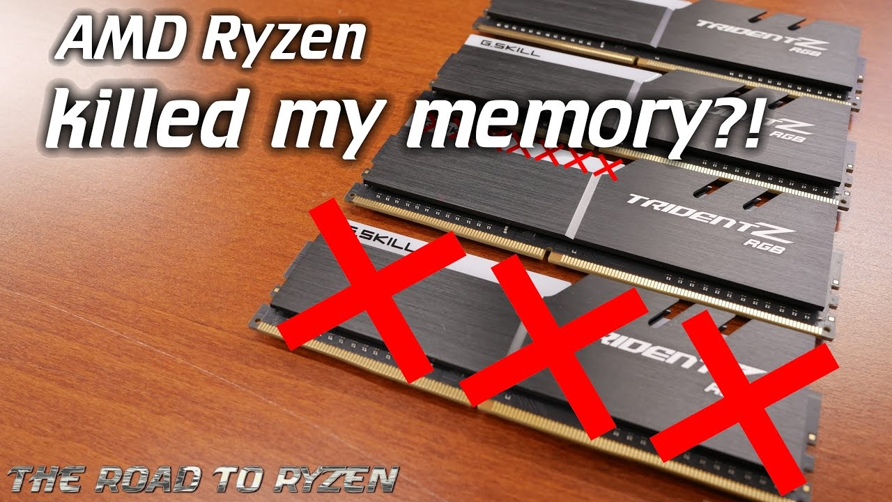 RoadtoRyzen: Ryzen platform issues? XMP killed my RAM!?