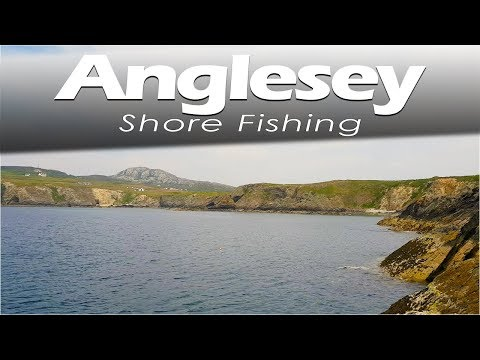 Shore Fishing - Holyhead In Anglesey North Wales