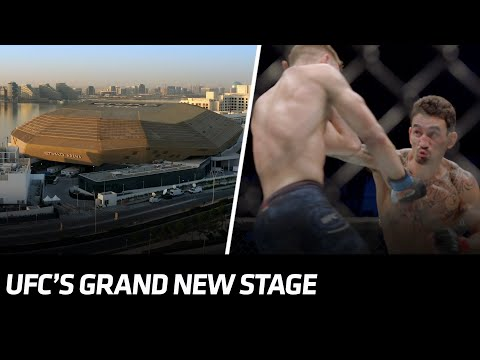 UFC's Grand New Stage