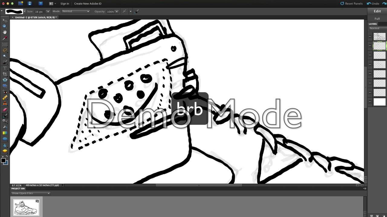Drawing Jordan 6 Carmine   YouTube