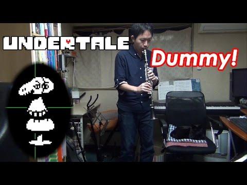 Dummy! (Undertale) Clarinet + Saxophone Trio Cover