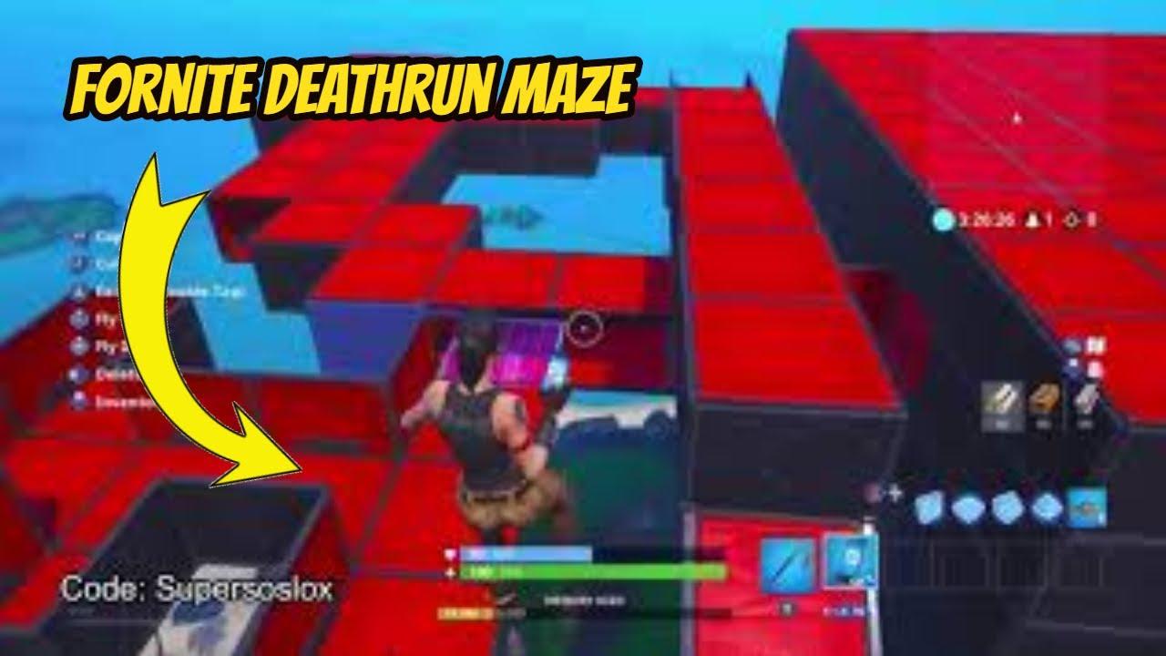 Fortnite Creative Codes Deathrun Maze Free V Buck Unlimited