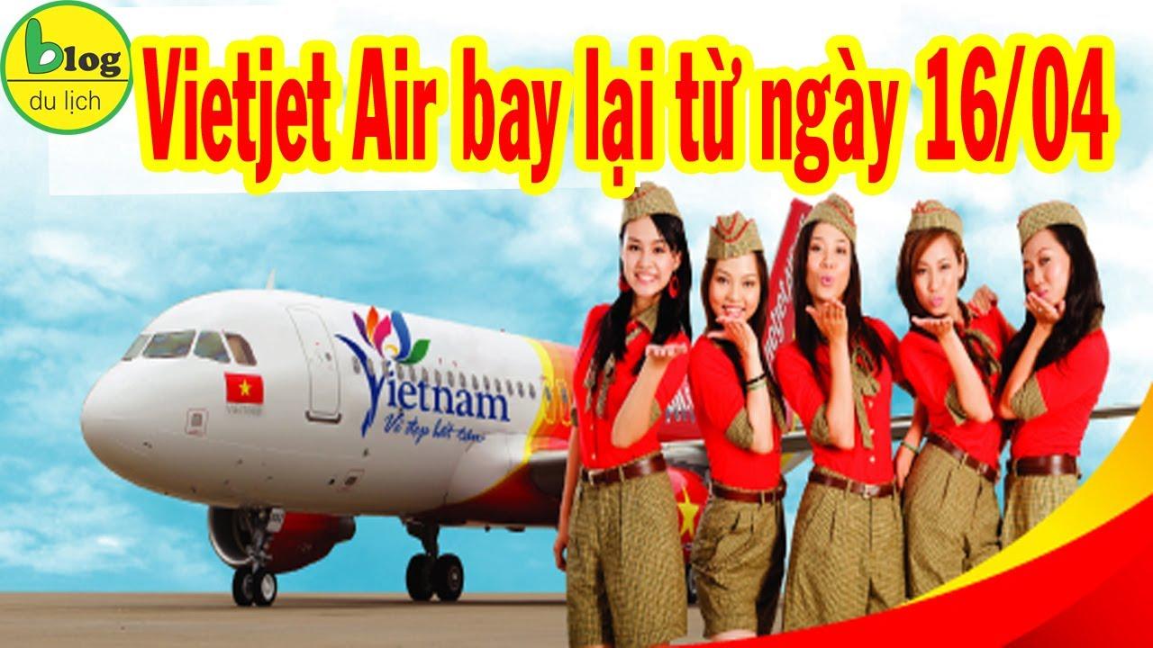 VietJet Air mở lại chặng bay nội địa từ ngày 16/04
