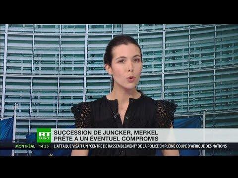 Succession de Jean-Claude Juncker, Angela Merkel prête à un éventuel compromis
