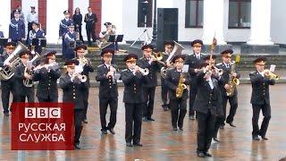 Оркестр Нацгвардии Украины исполнил хит группы