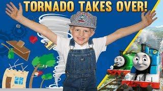 Thomas the Train Caught in a Tornado