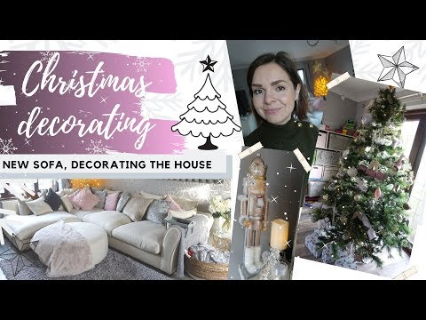 VLOG OF THE WEEK // NEW SOFA // DECORATING THE HOUSE FOR CHRISTMAS