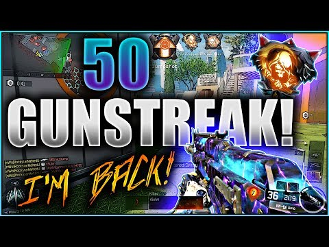 50 Gun Streak Unstoppable Nuclear on Black Ops 3!