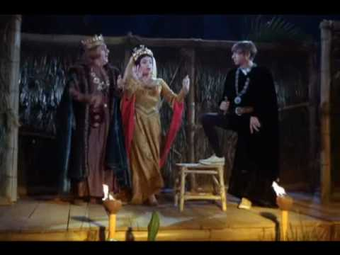 "Gilligan's Island Gilligan as Hamlet sings ""To be or not to be"" to Carmen's Habenera"