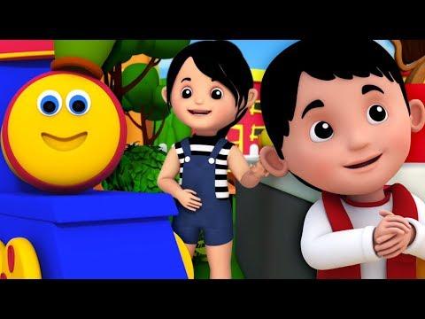 Bob o trem   Lil Jack Horner   rimas para crianças   Portuguese Poems