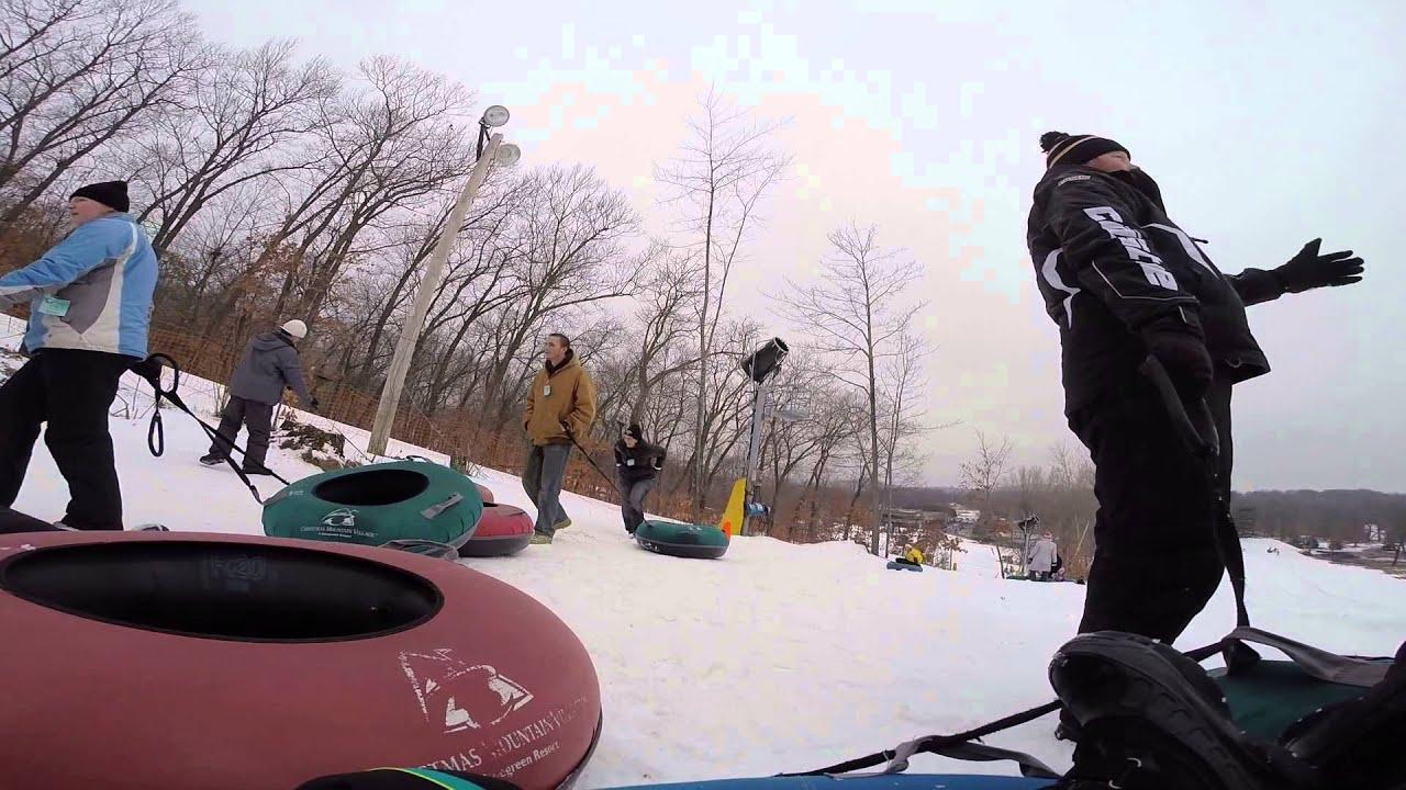 christmas mountain tubing 2015 part 2 - Christmas Mountain Tubing